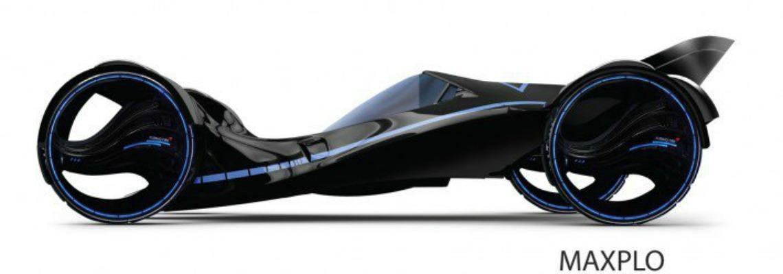 Lo pneumatico Maxplo premiato per il suo design futuristico